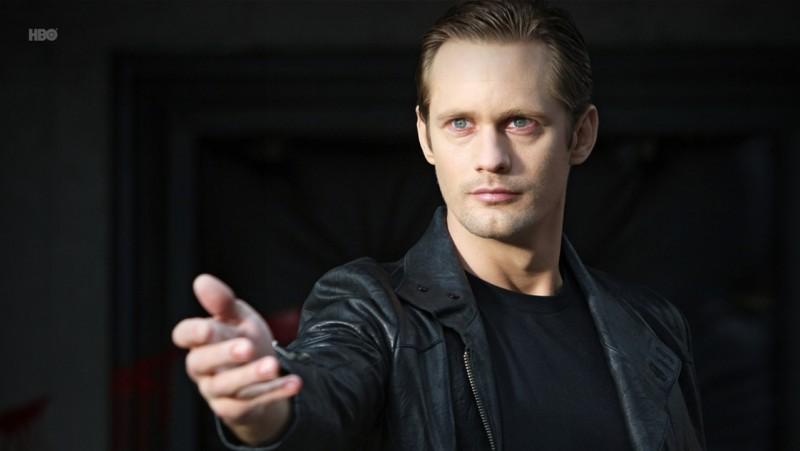 Alexander Skarsgård nell'episodio Fresh Blood di True Blood