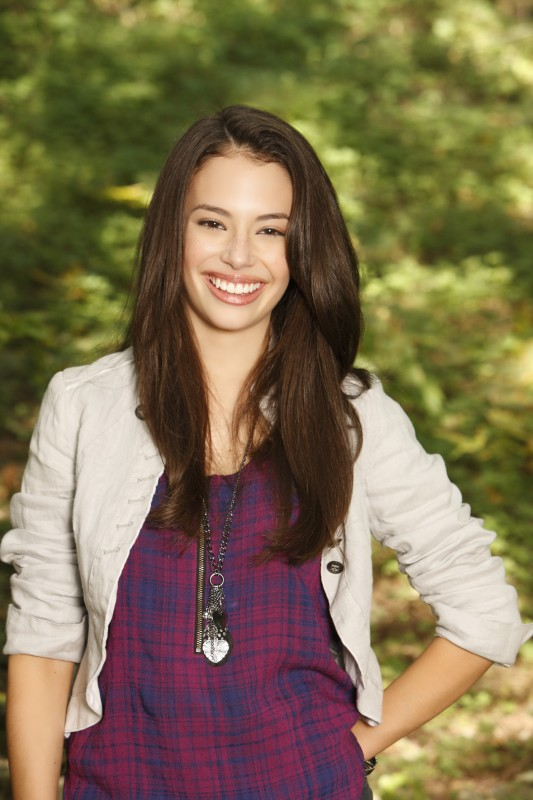 Chloe Bridges in una foto promozionale di Camp Rock 2