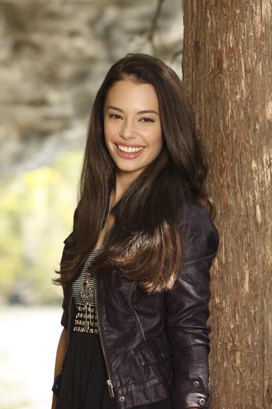 Chloe Bridges in una immagine promozionale di Camp Rock 2