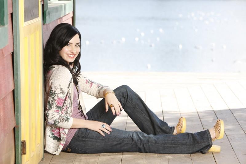 Demi Lovato in una immagine promozionale di Camp Rock 2