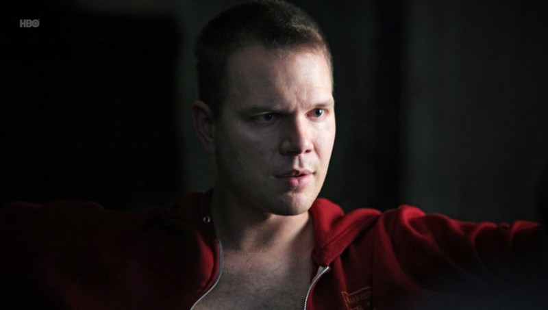 Jim Parrack nell'episodio Fresh Blood di True Blood