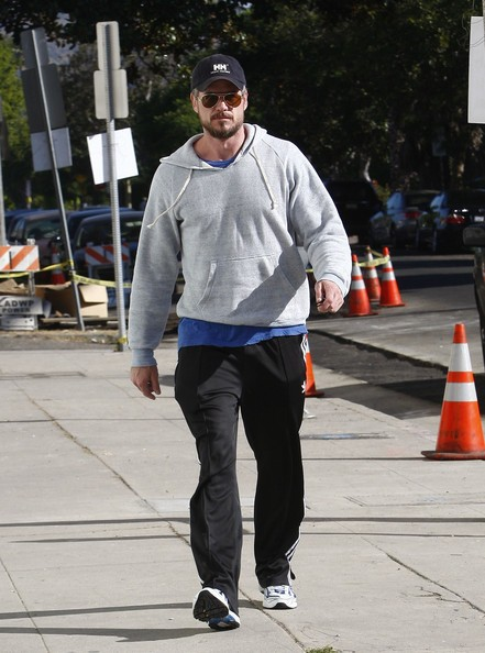 Eric Dane va in palestra a West Hollywood
