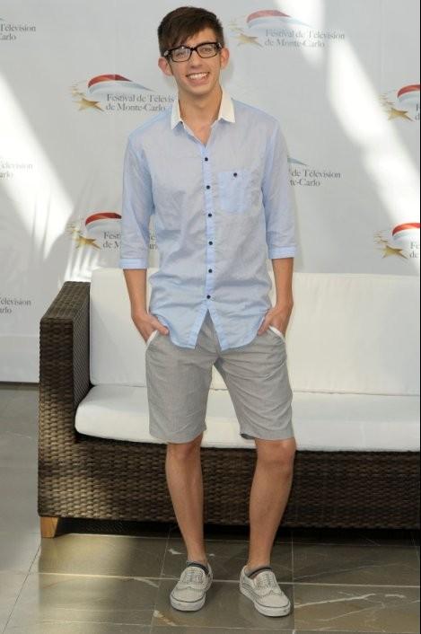 Kevin McHale all'edizione 2010 Television Festival di Monte-Carlo