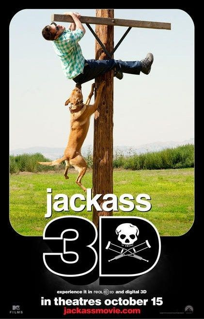 Nuovo poster 2 per Jackass 3-D