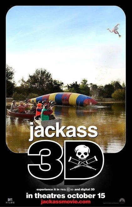 Nuovo poster 3 per Jackass 3-D