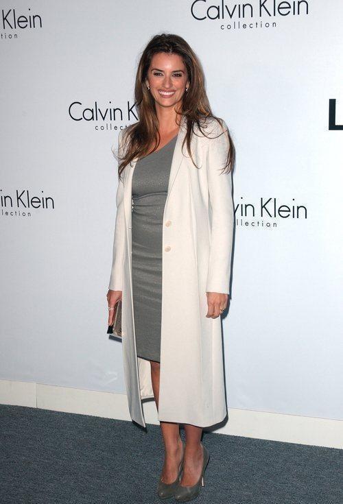 Penelope Cruz ad un evento organizzato per Calvin Klein