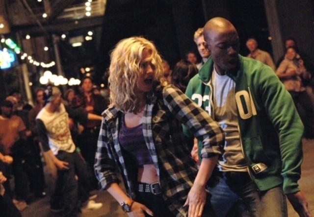 Alyson Michalka e Robbie Jones nell'episodio Beale St. After Dark di Hellcats