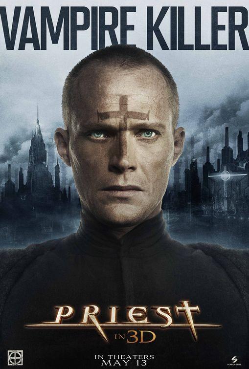 Character poster per Priest - Vampire Killer