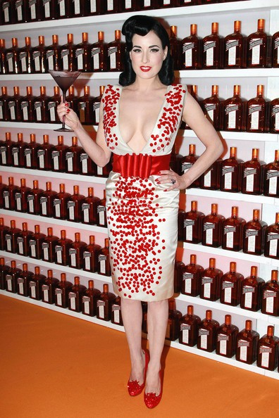 Dita Von Teese al Cointreau Cointreauversial Party in Sydney