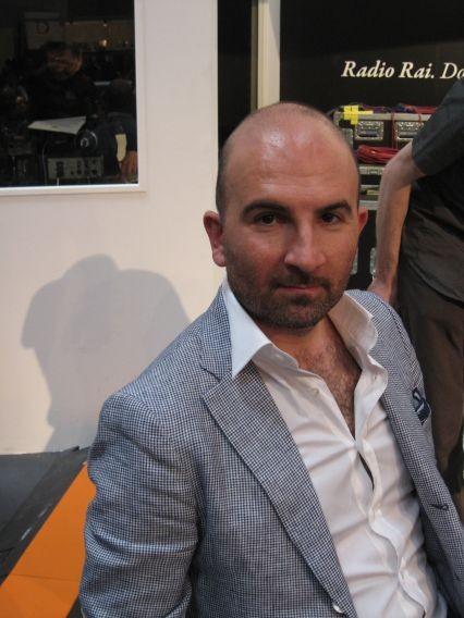 Foto di Alberto Fognini scattata al Salone del Libro di Torino 2009