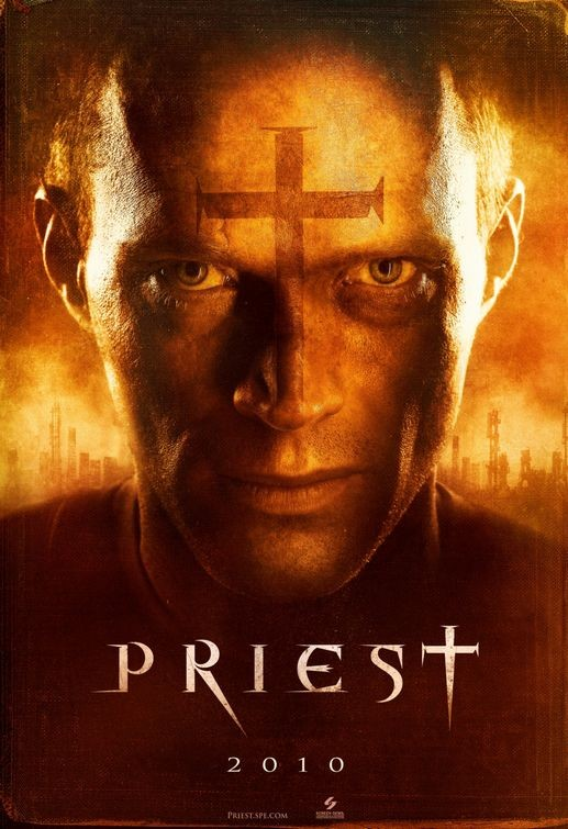 Primo teaser poster per Priest