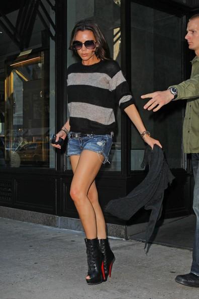 Victoria Beckham durante lo shopping nel Tom Ford store di New York