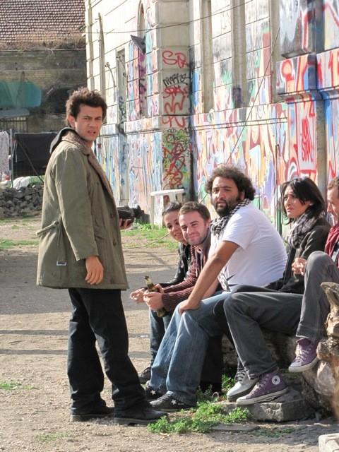 Vinicio Marchioni nel dramma Venti sigarette di A. Amadei, presentato a Venezia 2010
