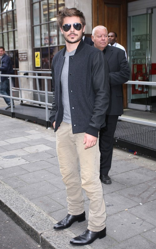 Zac Efron agli Studios della BBC Radio 1 a Londra