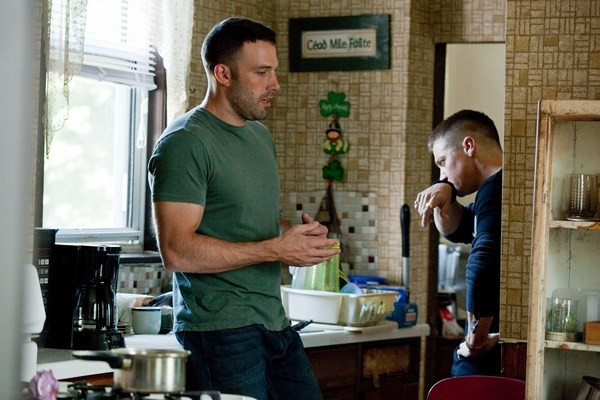 Ben Affleck con Jeremy Renner in The Town