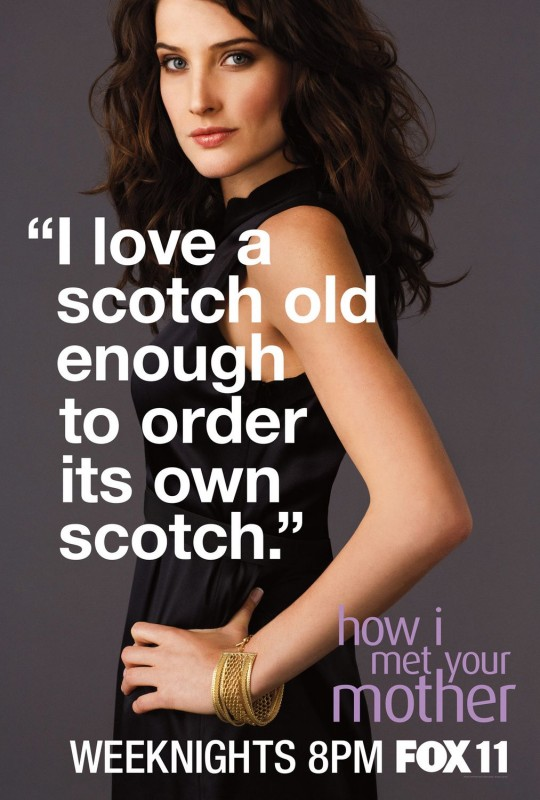Character poster del personaggio di Cobie Smulders per la stagione 6 di How I Met Your Mother