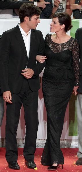 Julia Roberts e Luca Argentero alla premiere romana del film Mangia, prega, ama