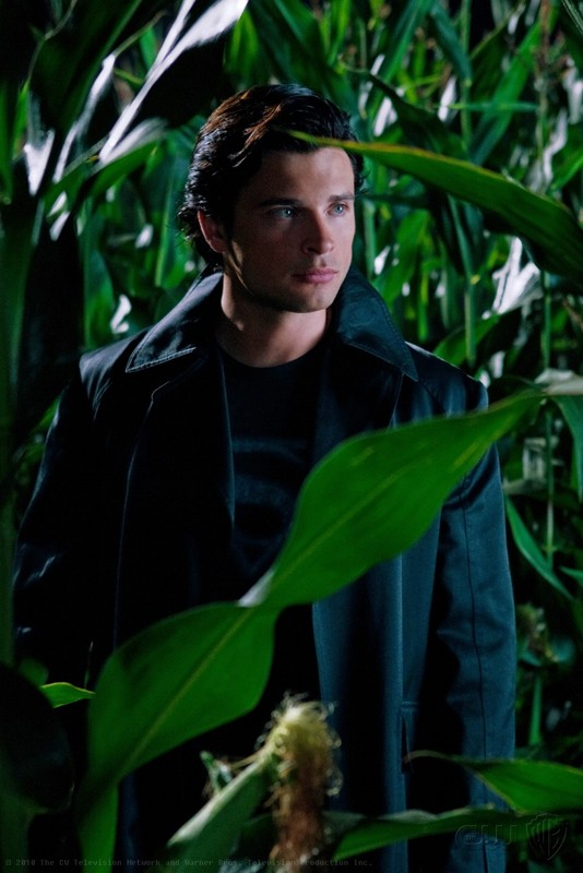 La Macchia (Tom Welling) in una scena dell'episodio Lazarus di Smallville