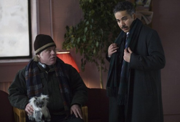 Philip Seymour Hoffman e John Ortiz in una scena del film Jack Goes Boating