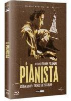 La copertina di Il pianista (blu-ray)