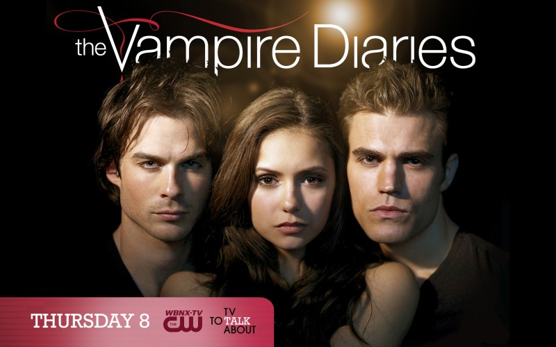 Un wallpaper ufficiale della CW per la 2 stagione di Vampire Diaries