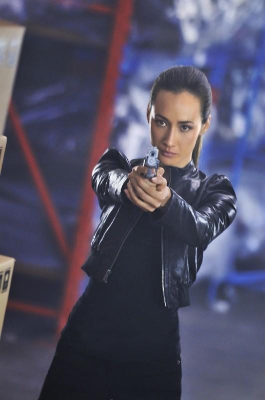 Una determinata Nikita (Maggie Q) nell'episodio Rough Trade