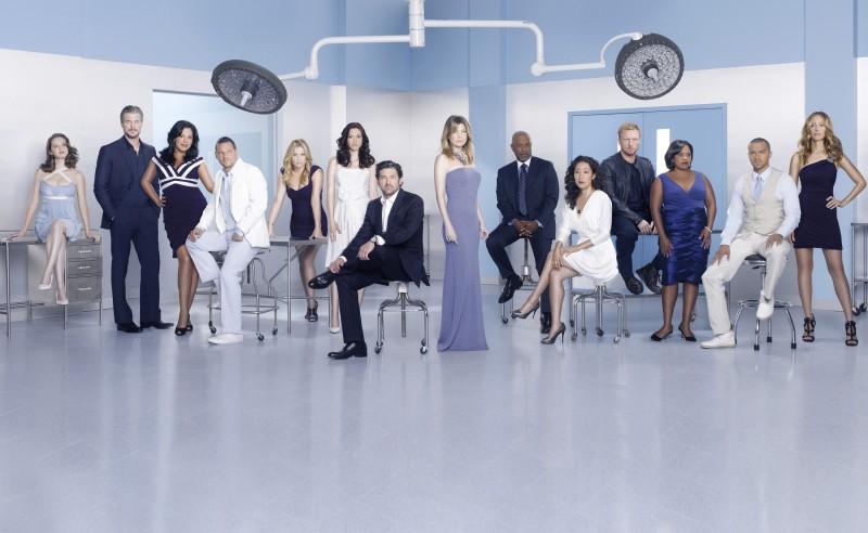 Grey's Anatomy: una foto promozionale del cast della stagione 7