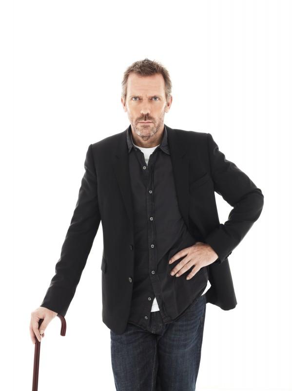 Hugh Laurie nel ruolo del Dr. Gregory House nella stagione 7 di Dr House