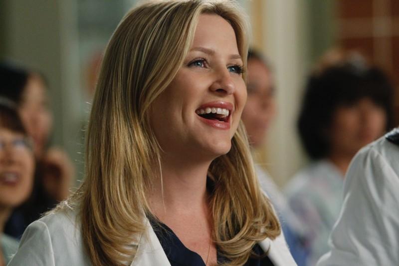 Jessica Capshaw nell'episodio With You I'm Born Again di Grey's Anatomy