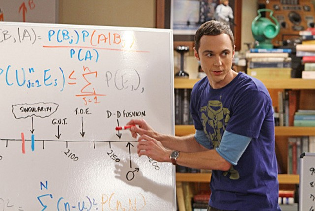 Jim Parsons nell'episodio The Cruciferous Vegetable Amplification di The Big Bang Theory