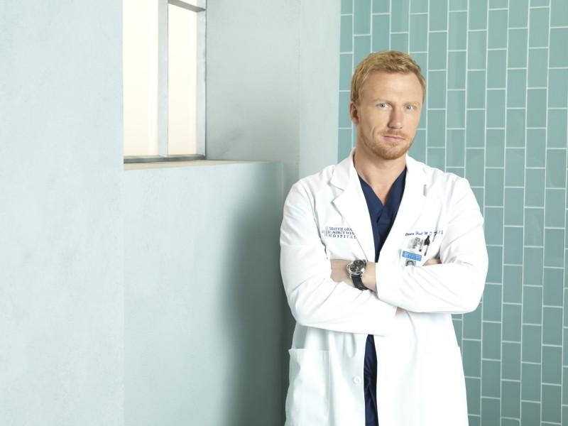 Kevin McKidd in una foto promozionale della stagione 7 di Grey's Anatomy