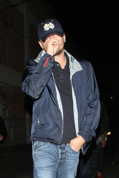 Leonardo DiCaprio lascia la discoteca Premiere a West Hollywood