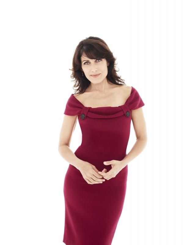 Lisa Edelstein nel ruolo della dottoressa Lisa Cuddy nella stagione 7 di Dr House