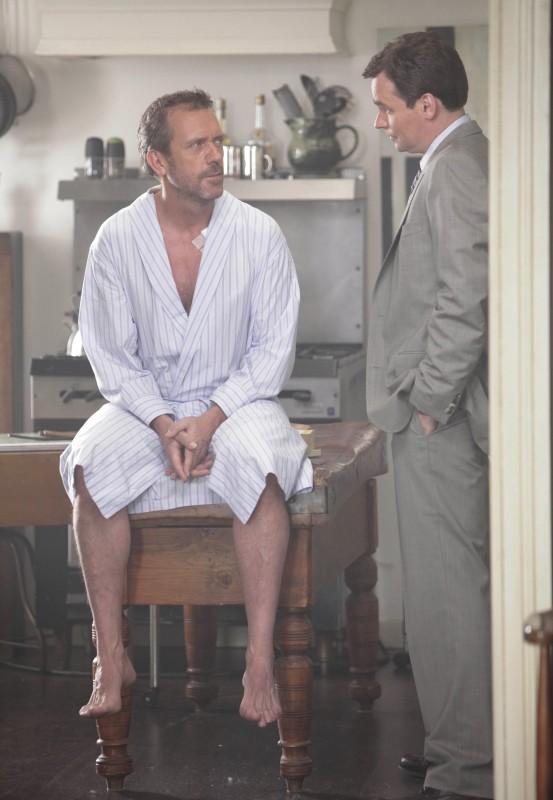 Robert Sean Leonard ed Hugh Laurie nell'episodio Now What? di Dr House