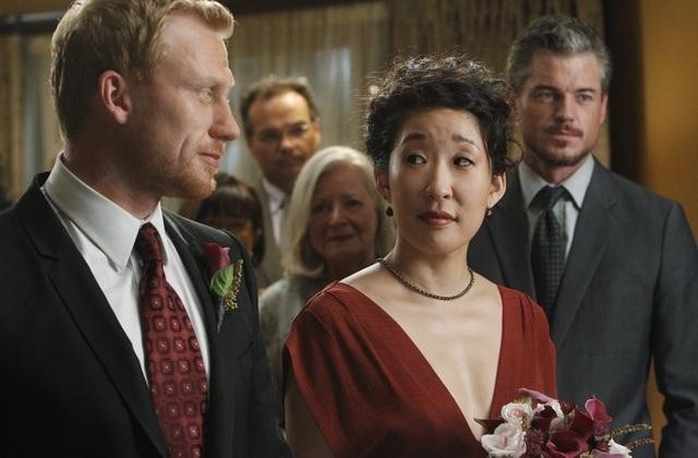 Sandra Oh e Kevin McKidd nell'episodio Shock to the System di Grey's Anatomy