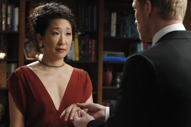 Sandra Oh nell'episodio Shock to the System di Grey's Anatomy