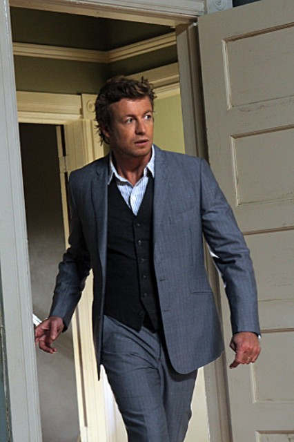 Simon Baker nell'episodio The Blood On His Hands di The Mentalist