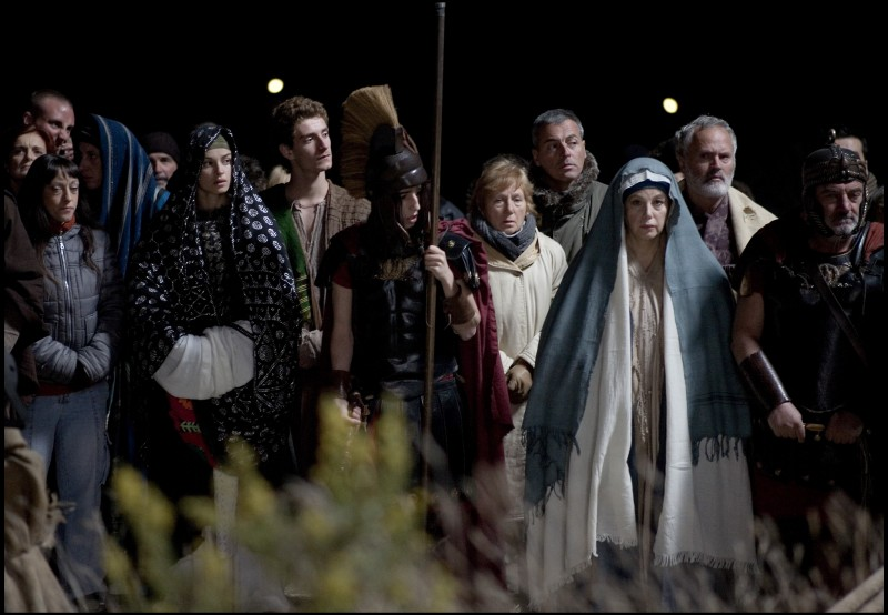 Stefania Sandrelli in un'immagine del film La passione