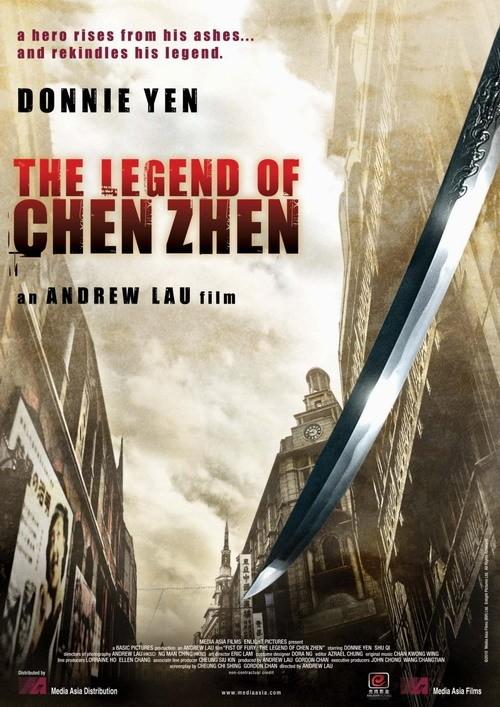 Il poster americano di Legend of the Fist: The Return of Chen Zhen