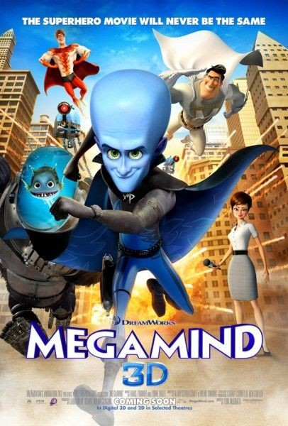 Poster UK 2 per Megamind