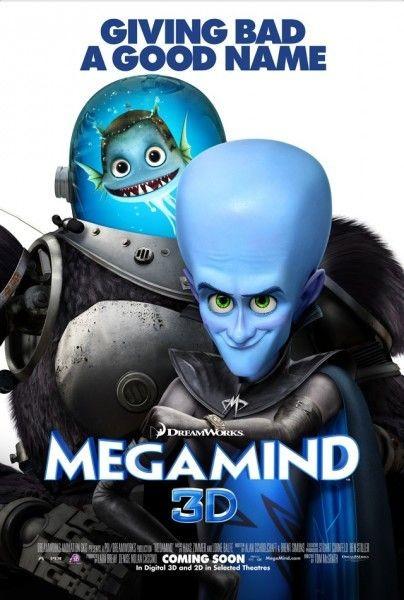Poster UK 3 per Megamind