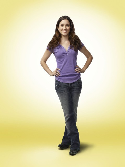 Shannon Woodward in una immagine promozionale della serie Raising Hope