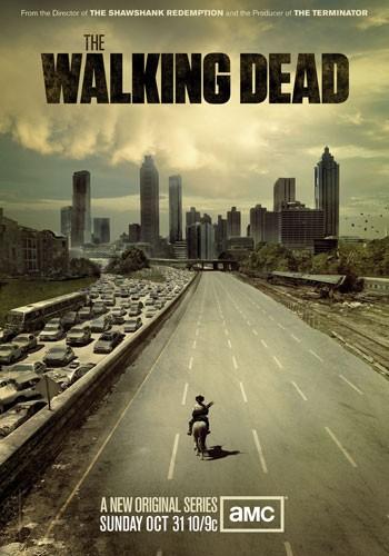 Un poster della serie AMC The Walking Dead
