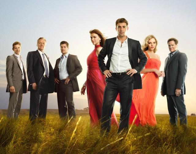 Il cast di Lone Star in una foto promozionale della serie