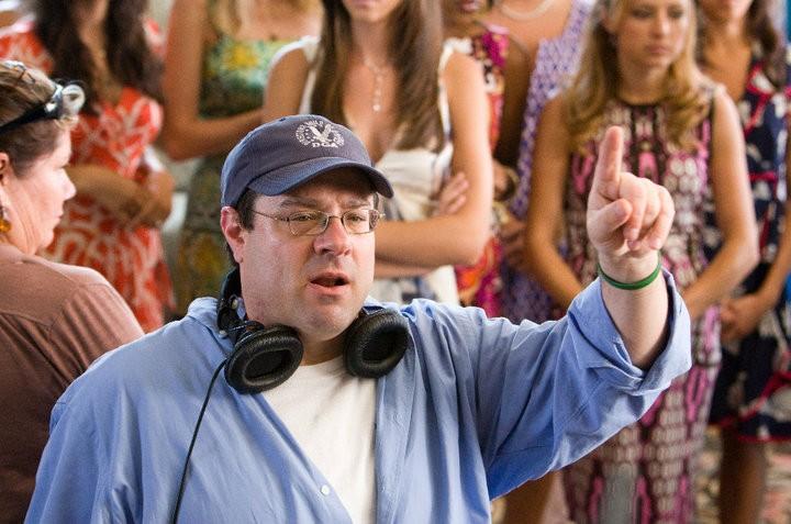 Il regista Andy Fickman sul set del film You Again