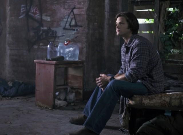 Jared Padalecki nell'episodio Exile on Main Street di Supernatural