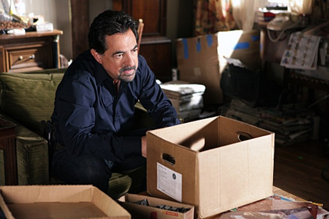 Joe Mantegna nell'episodio Remembrance of Things Past di Criminal Minds