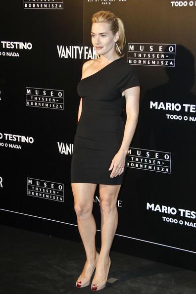 Kate Winslet a Madrid in occasione della mostra 'Todo o Nada' di Mario Testino