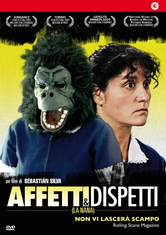 La copertina di Affetti e dispetti (dvd)