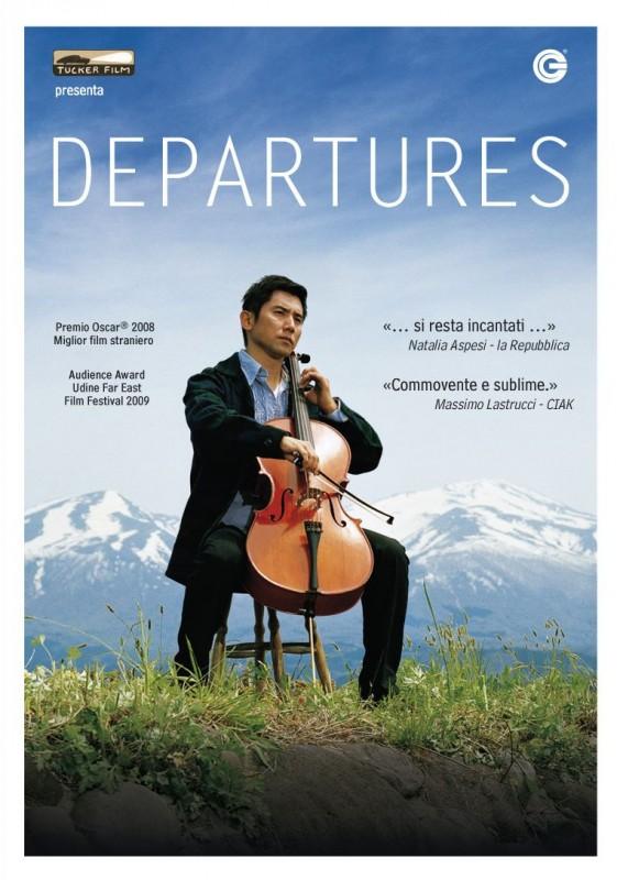La copertina di Departures (dvd)